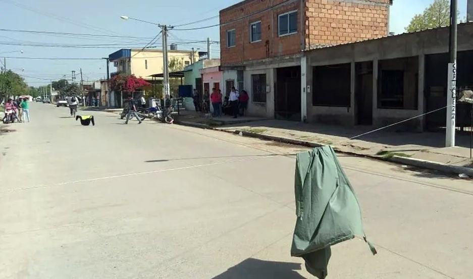 En este lugar fue asesinada Luciana Frías.