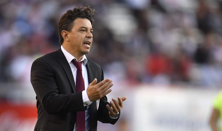 """PALABRA. Marcelo Gallardo destacó ayer: """"Entender que los demás juegan su partido y tenemos que saber cuál"""