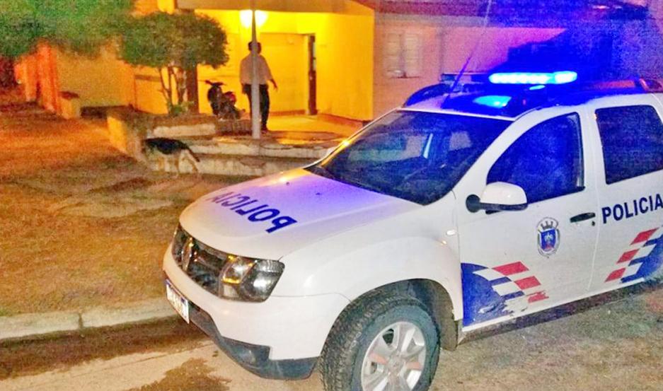 BÚSQUEDA. La Policía trataba de dar anoche con el agresor.