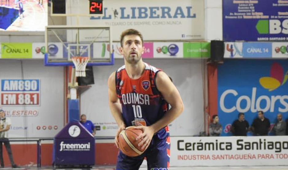APORTE. Nicolás Copello fue importante desde el banco y mostró su calidad en la parte final del encuentro.
