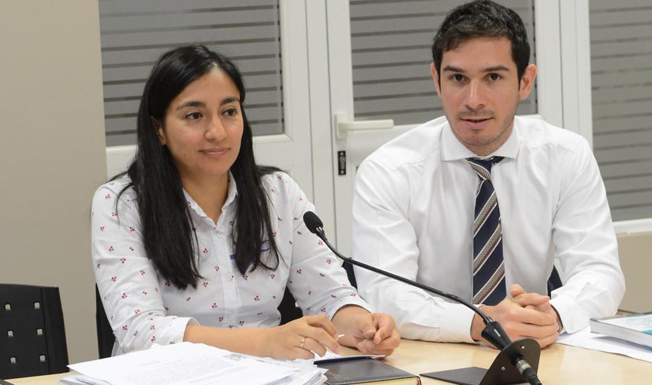PROCESO. Los Dres. Cecilia Gómez Castañeda y Benjamín Zavalía llevaron adelante la investigación de los hechos de violencia.
