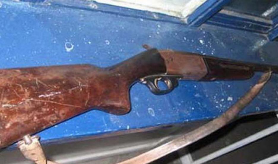 El arma fue secuestrado. Foto   Archivo