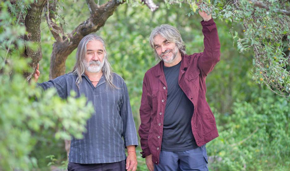El prestigioso dúo se presentará mañana en el Fórum y Roberto Cantos (der.) tuvo un mano a mano imperdible con EL LIBERAL.