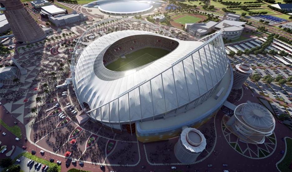 Estadio Internacional de Khalifa.