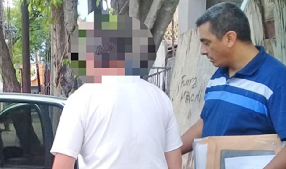 OPERATIVO La detención se produjo a las 11 de la mañana