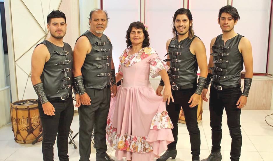 La familia Umbides estará hoy en el Festival Nacional de Doma y Folclore con un espectáculo integral.