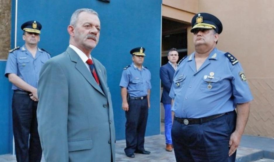 AUTORIDAD. El jefe policial Victor José Sarnaglia dejó sin efecto la resolución provincial del año 1998.